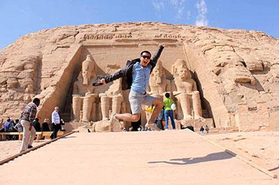 Day tour to Abu Simbel from Aswan by plane