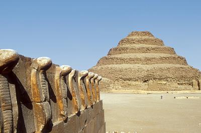 Day tour to Giza Pyramids, Sphinx, Sakkara step pyramid and Memphis