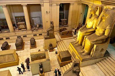 Half Day Tour to the National Egyptian Museum